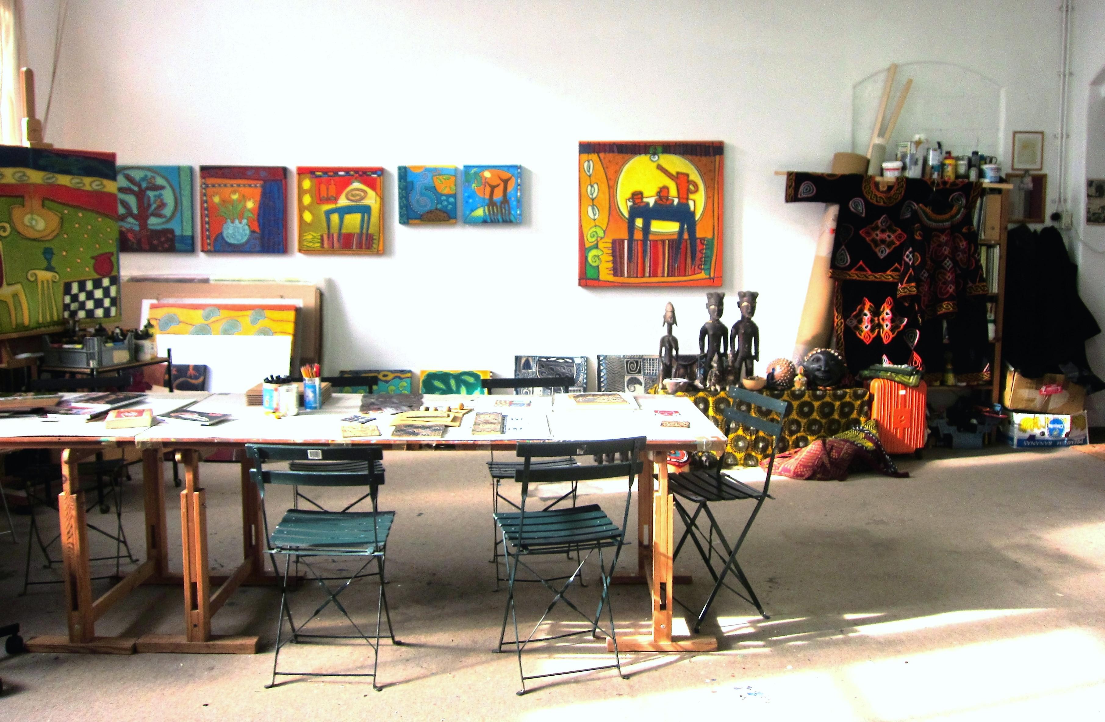 Atelier Diana van Hal. Dordrecht. Lino.