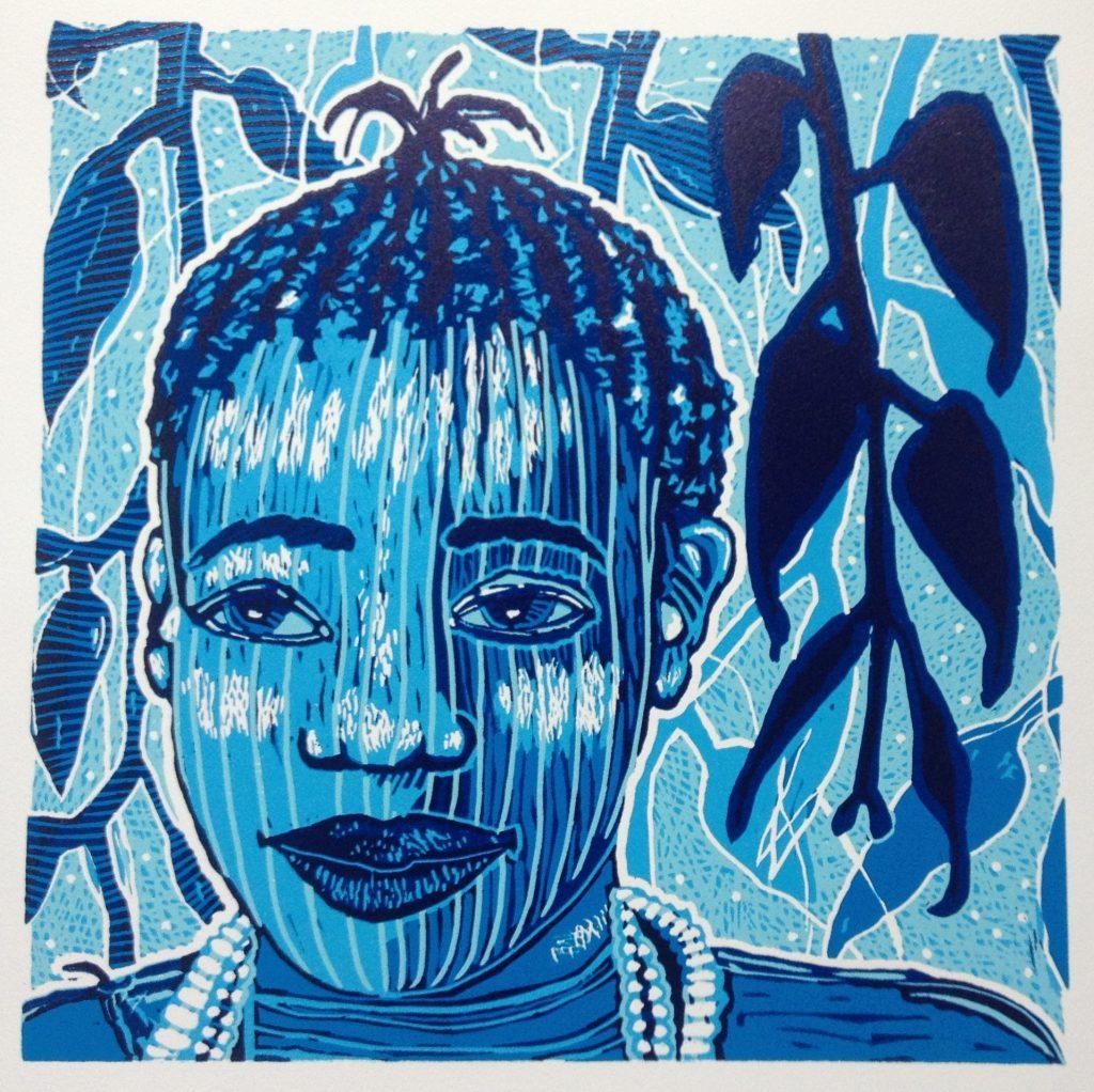 1-tribal-prints-lino-beeldmaat-43x43cm-titel-fanta-2016-diana-van-hal