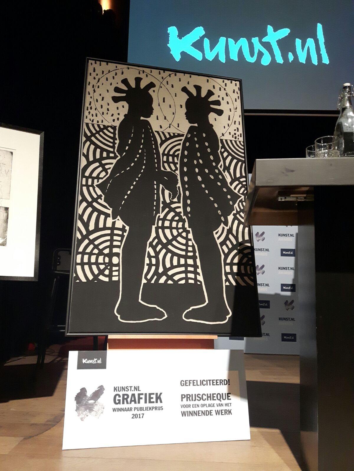 GEWONNEN! Kunst.nl Grafiek Publieksprijs